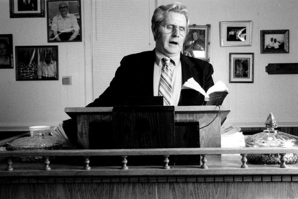Frank Newsome, Old Regular Baptist a cappella gospel singer